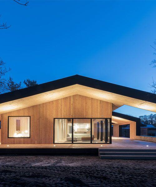 CEBRA designs summer house as an architectural rus