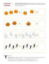 Kindergarten Worksheets Halloween Math Worksheets 8 Halloween Math Worksheets Halloween Math Math Worksheets
