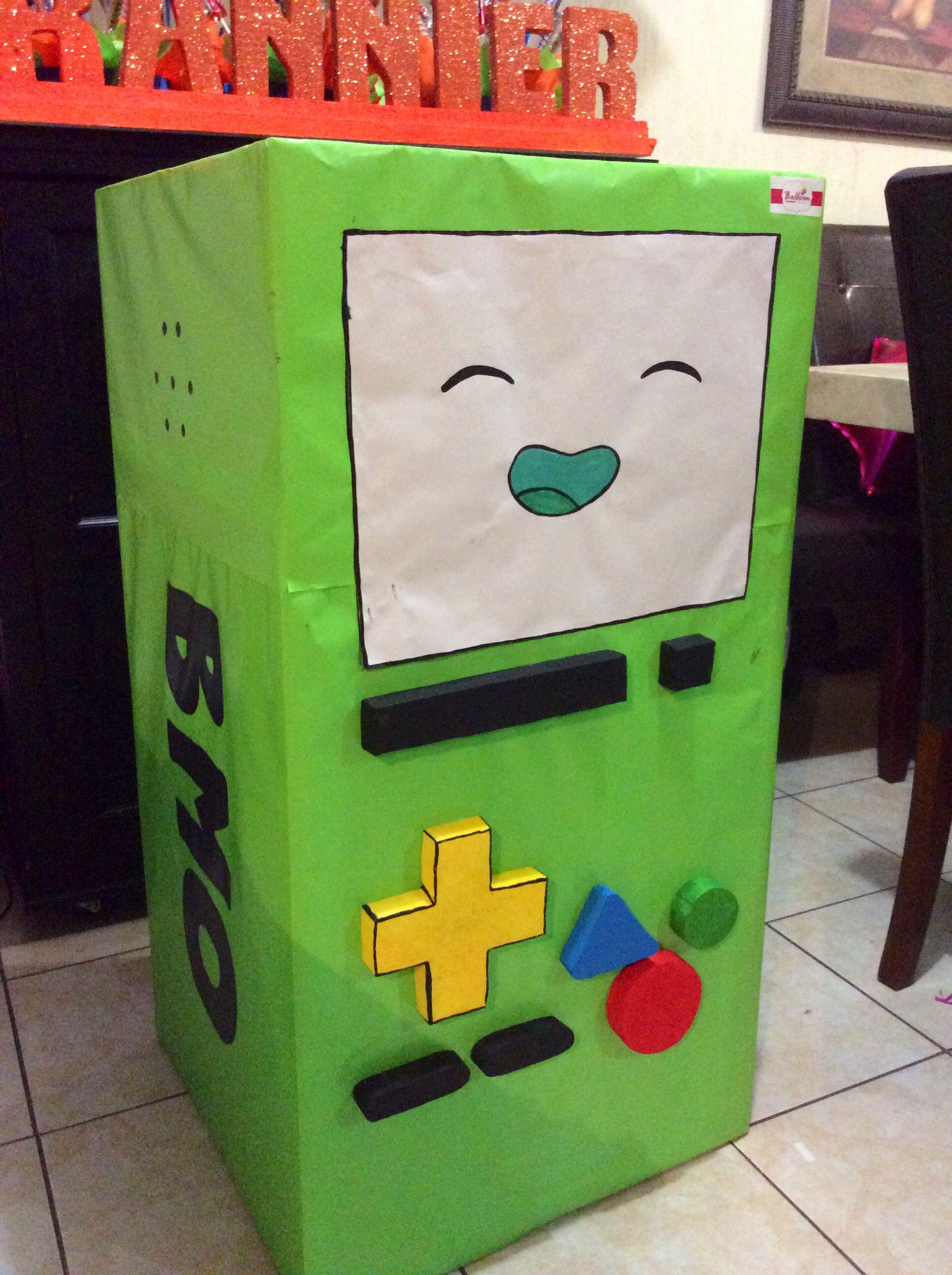 Caja para regalos figura bmo balloon decoraci n for Decoracion de cajas
