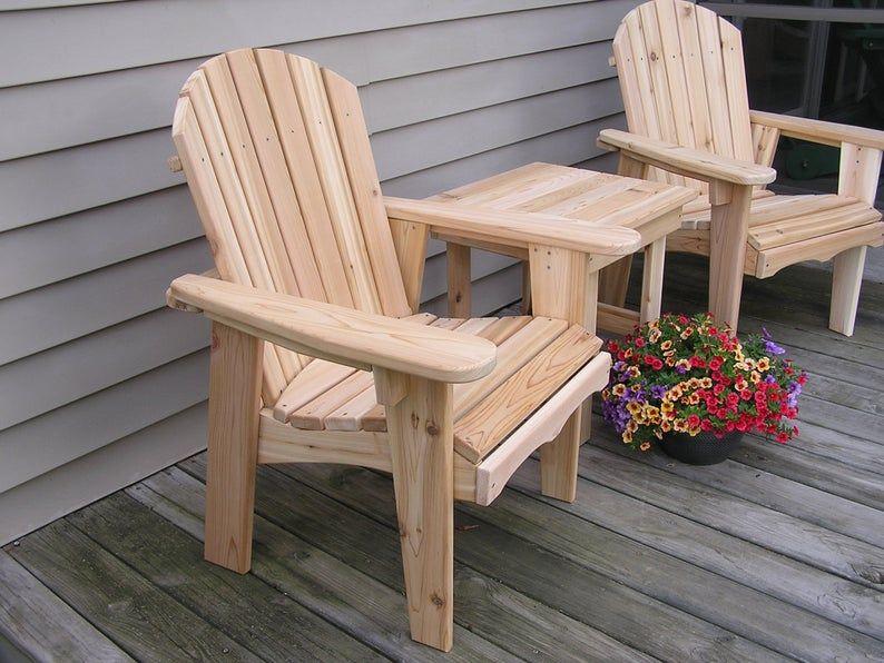 Adirondack Garden Chair In 2020 Garden Chairs Outdoor Furniture