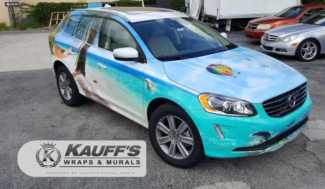 Christy Cash we hope you love your Palm Beach vehicle wrap