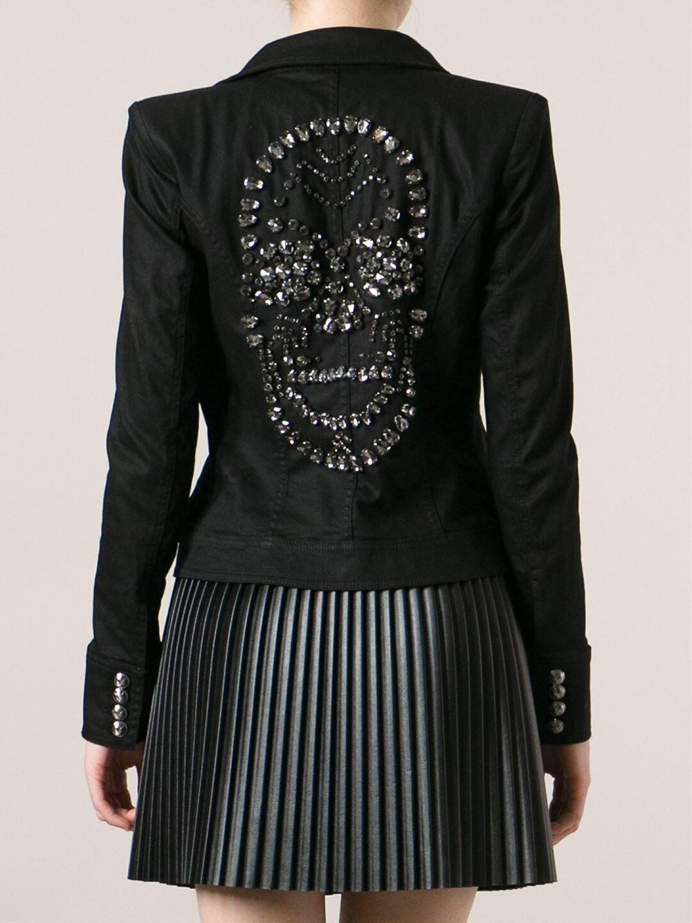 miglior servizio c7242 f0de4 Philipp Plein Skull Embellished Jacket   My love for skulls ...