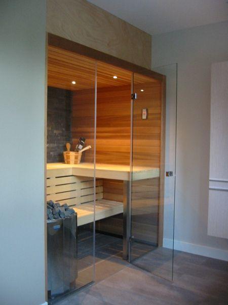 Bij een combisauna van Cerdic wordt de traditioneel Finse sauna ...