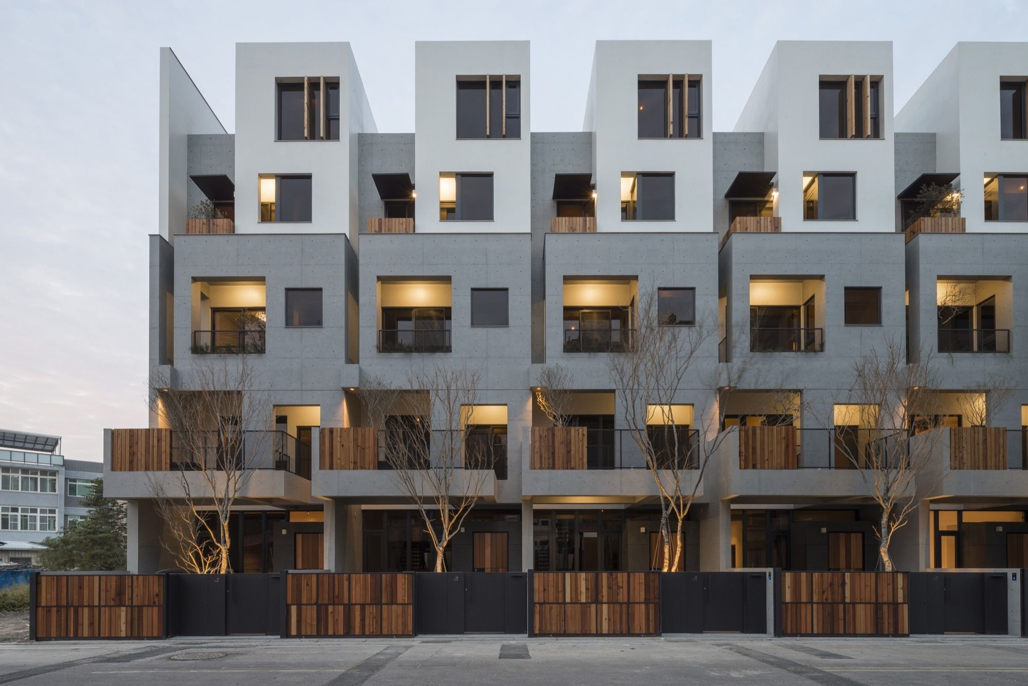 Shen Ting Tseng architects is part of Architecture house - Completed in 2016 in Hsinchu County, Taiwan  Images by Lucas K  Doolan  LightHouse is located in Hsinchu County, Taiwan  This multistoried residential building block is designed in consideration of common Taiwanese