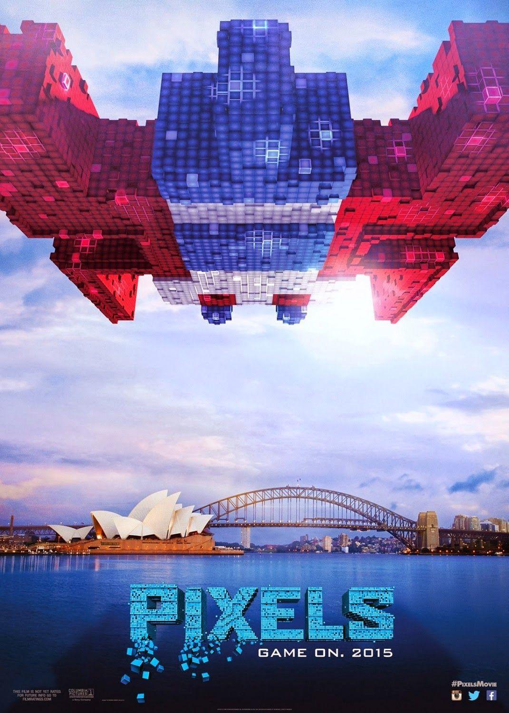 First Trailer for PIXELS Starring Adam Sandler, Kevin James