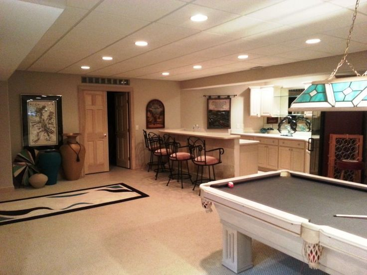 Photo of Rec room or recreational room can be the most favorite room in the house. Here a…