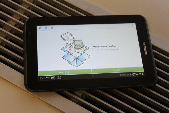 How To Use Dropbox On Samsung Galaxy Tab 2 - P^i Dropbox provides