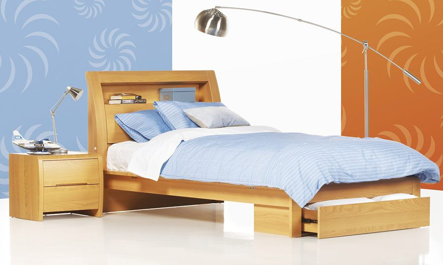Andrew\'s second favourite Benton White - High Gloss King Single Bed ...