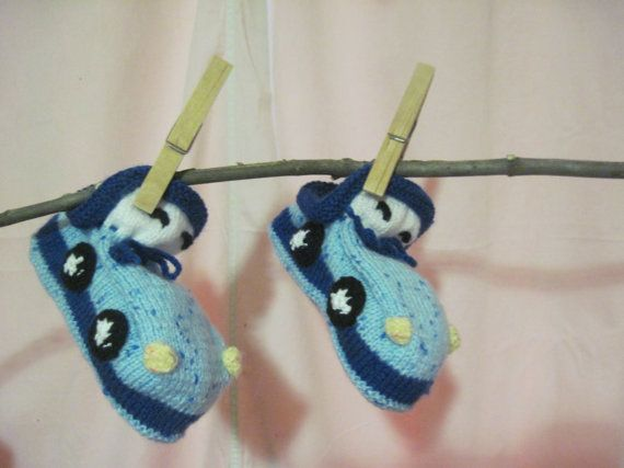 Free Shippingbaby gift ideas/  Baby Booties Natural by LuckyDayNow