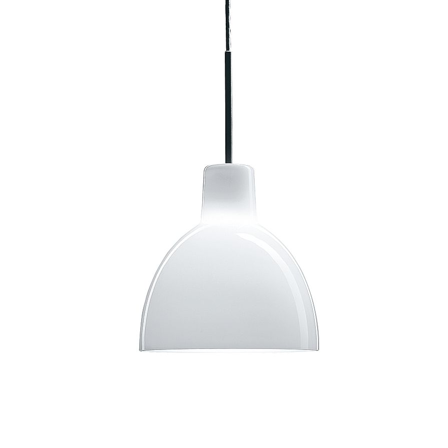 Toldbod 220 glass pendant light white opal glass louis poulsen louis poulsen targets the professional and private lighting markets and produces and develops lights and solutions for indoor and mozeypictures Gallery