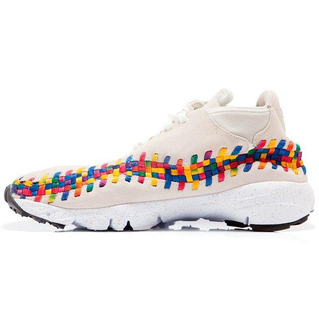 best sneakers d3934 3bd6a Nike Air Footscape Woven Chukka Premium QS Rainbow Sail