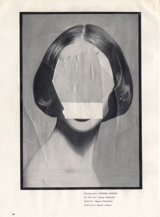 Blank Avedon (2011) by James Gallagher