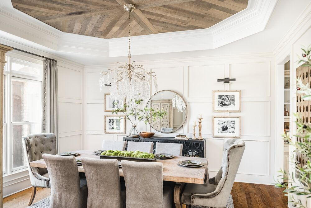 Tuscan Turned Transitional Dining Room — Sara Lynn