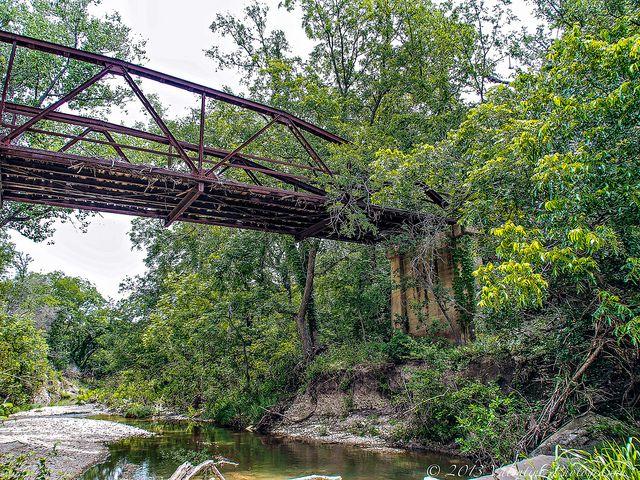 Abandoned Bridge Over Waring Creek, Hamilton County Road 607 | Flickr - Photo Sharing!