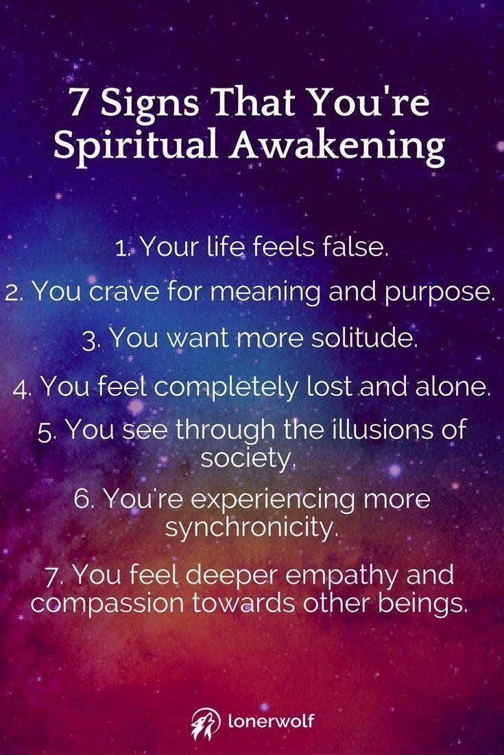 7 Signs that You're #SpirituallyAwakening