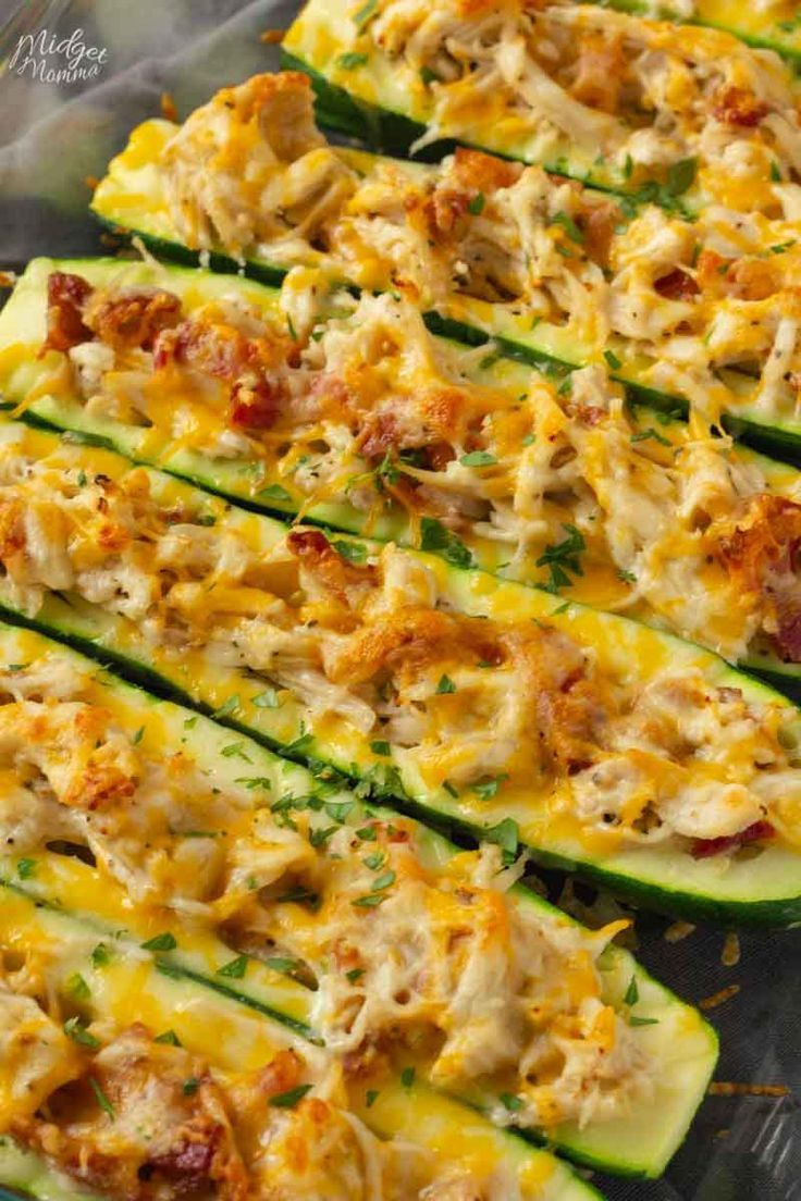 Photo of Chicken Bacon Ranch Zucchini.