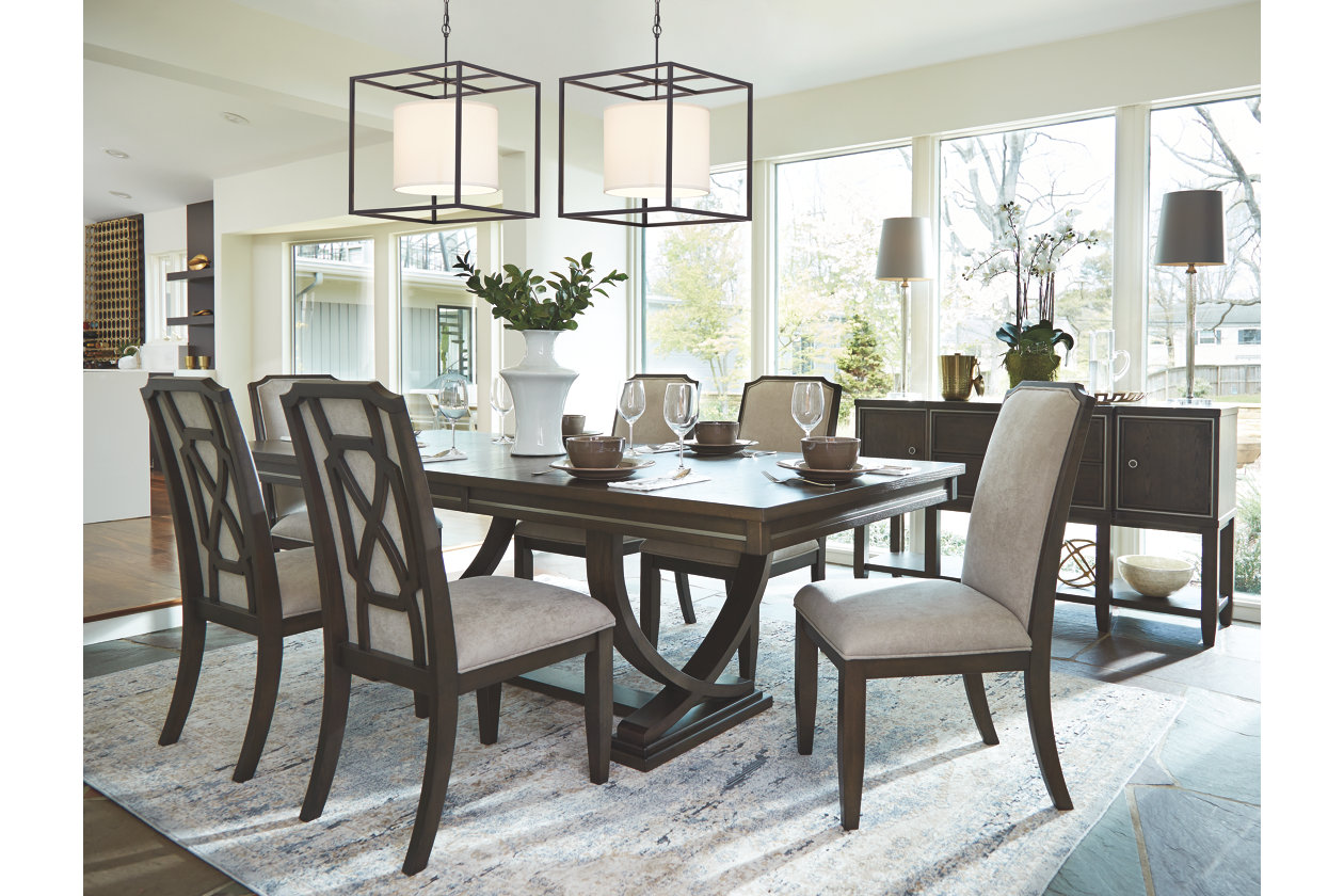 Zimbroni Dining Room Chair Ashley Furniture Homestore Richmond