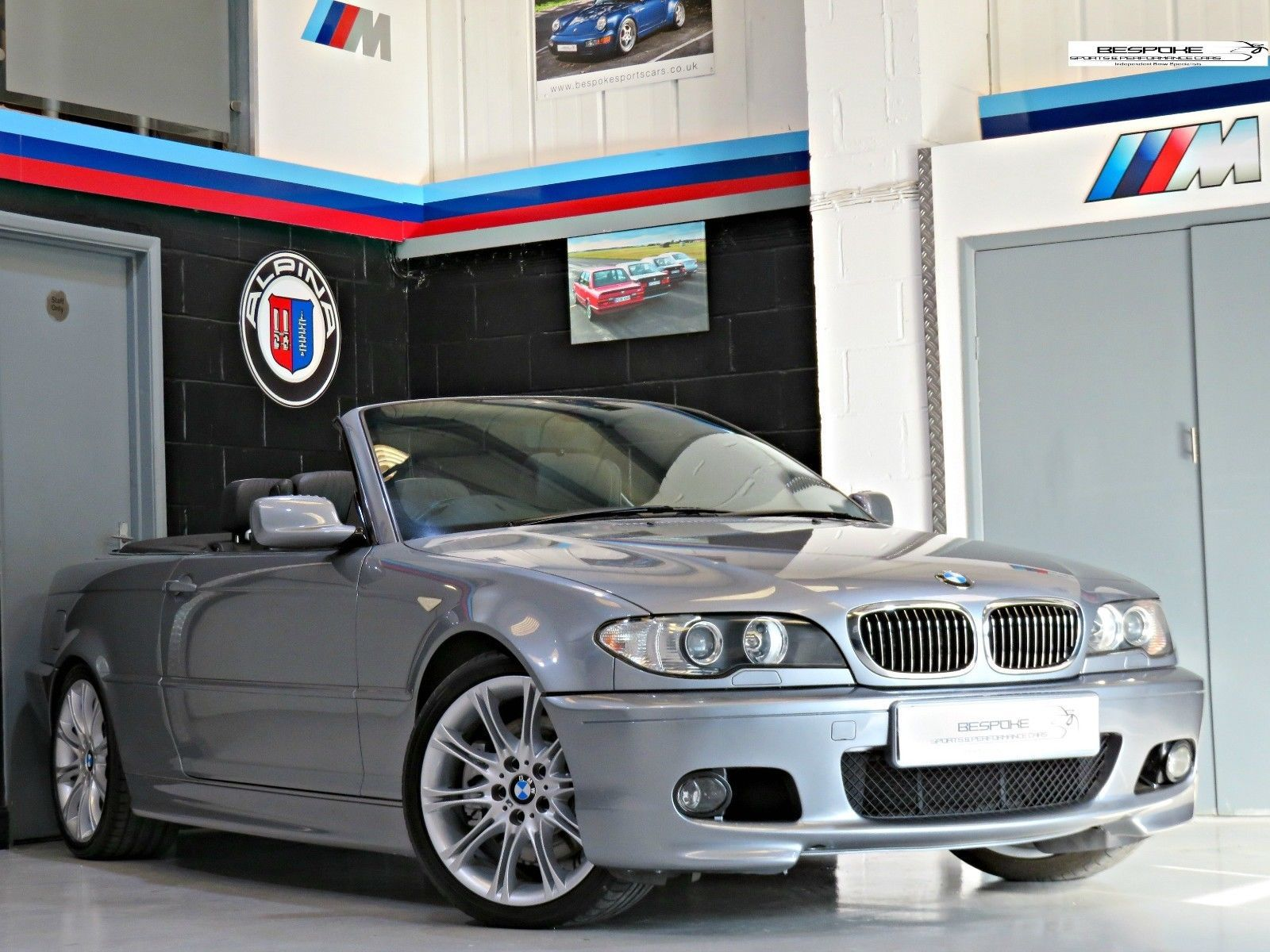 2005 Bmw 330ci M Sport Convertible 6 Speed Manual 231 Bhp Silver Grey Bmw Convertible Bavarian Motor Works