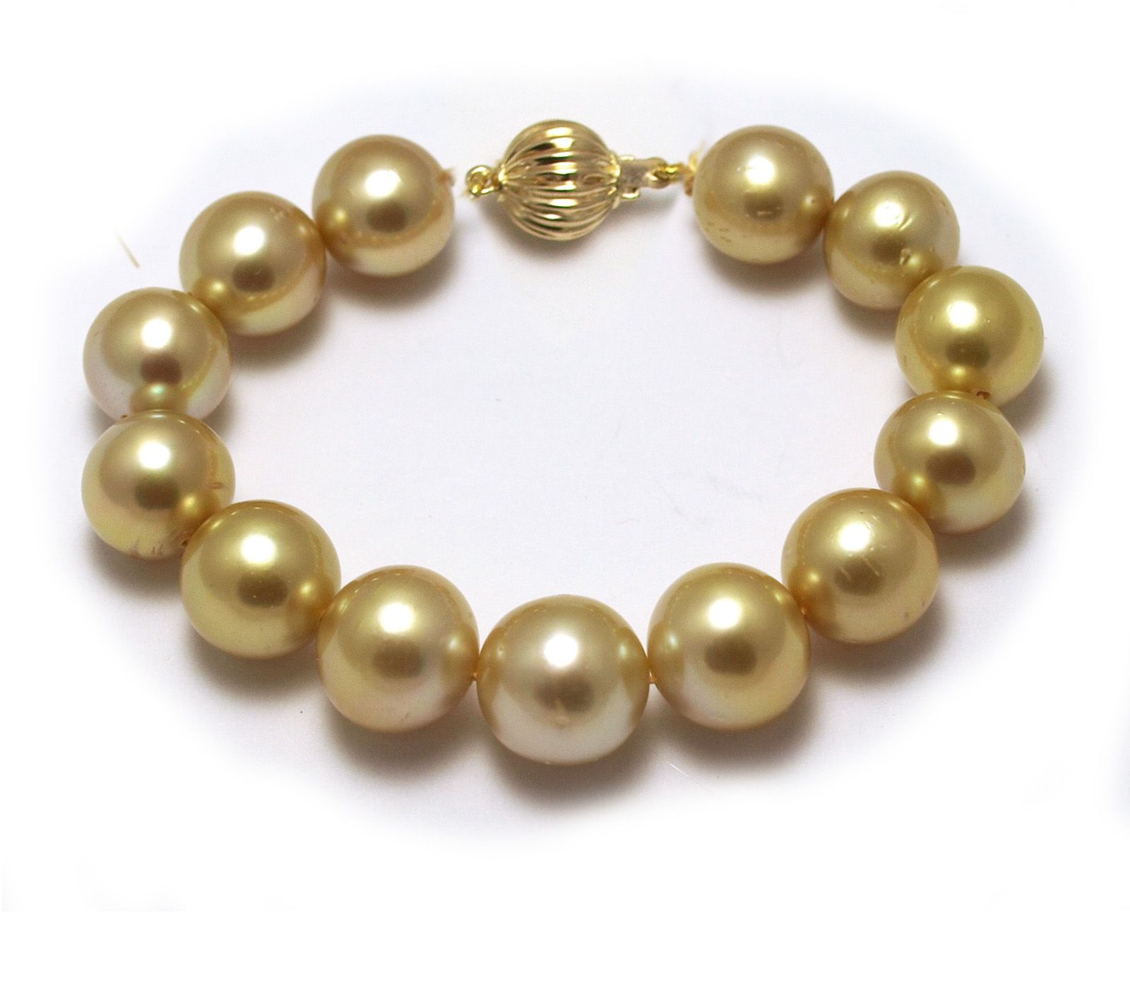 golden with pin south deep pearls sea pearl bracelet