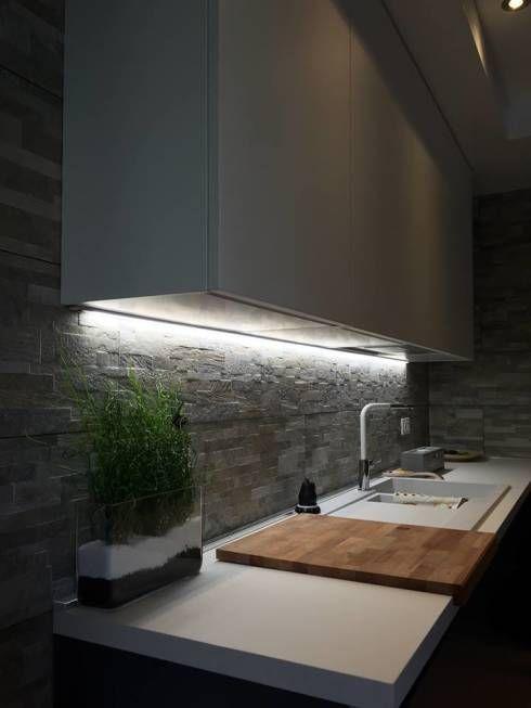 10 Ideas Originales Y Faciles Para Tu Cocina Kitchens Pinterest - Luces-para-muebles-de-cocina