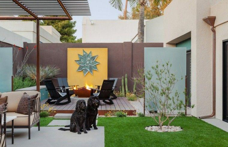 Revestimiento de paredes exteriores 50 ideas muros de for Decoracion paredes jardin