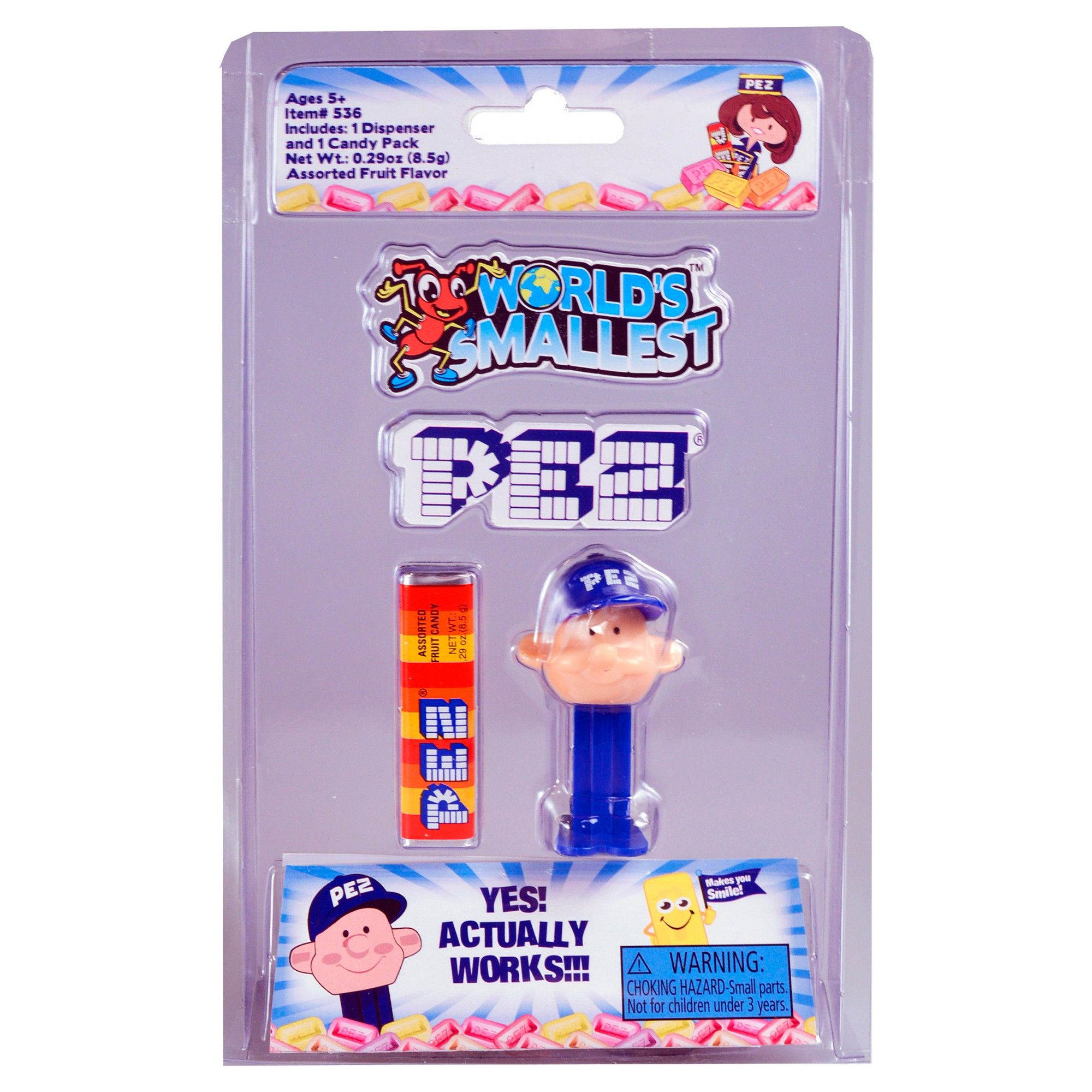 world/'s smallest toys World's Smallest Pez Dispensers PEZ BOY