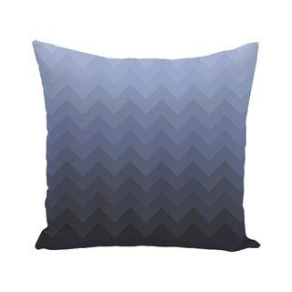 Strip Print 28 Inch X 28 Inch Decorative Indoor Floor Pillow Navy Blue E By Design P Comfortable Throw Pillows Decorative Floor Pillows Stripe Throw Pillow