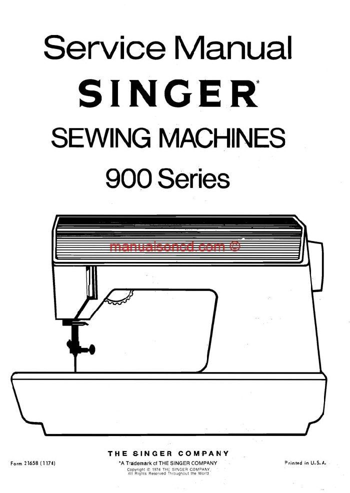 singer 900