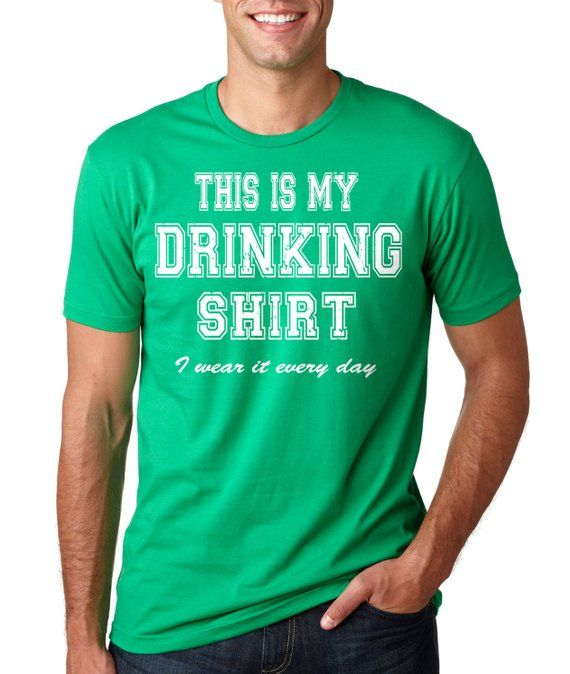 St. Patrick s Day T-Shirt Drinking T-Shirt Saint Patrick s Day Party Green T -Shirt ce357ba1cd6