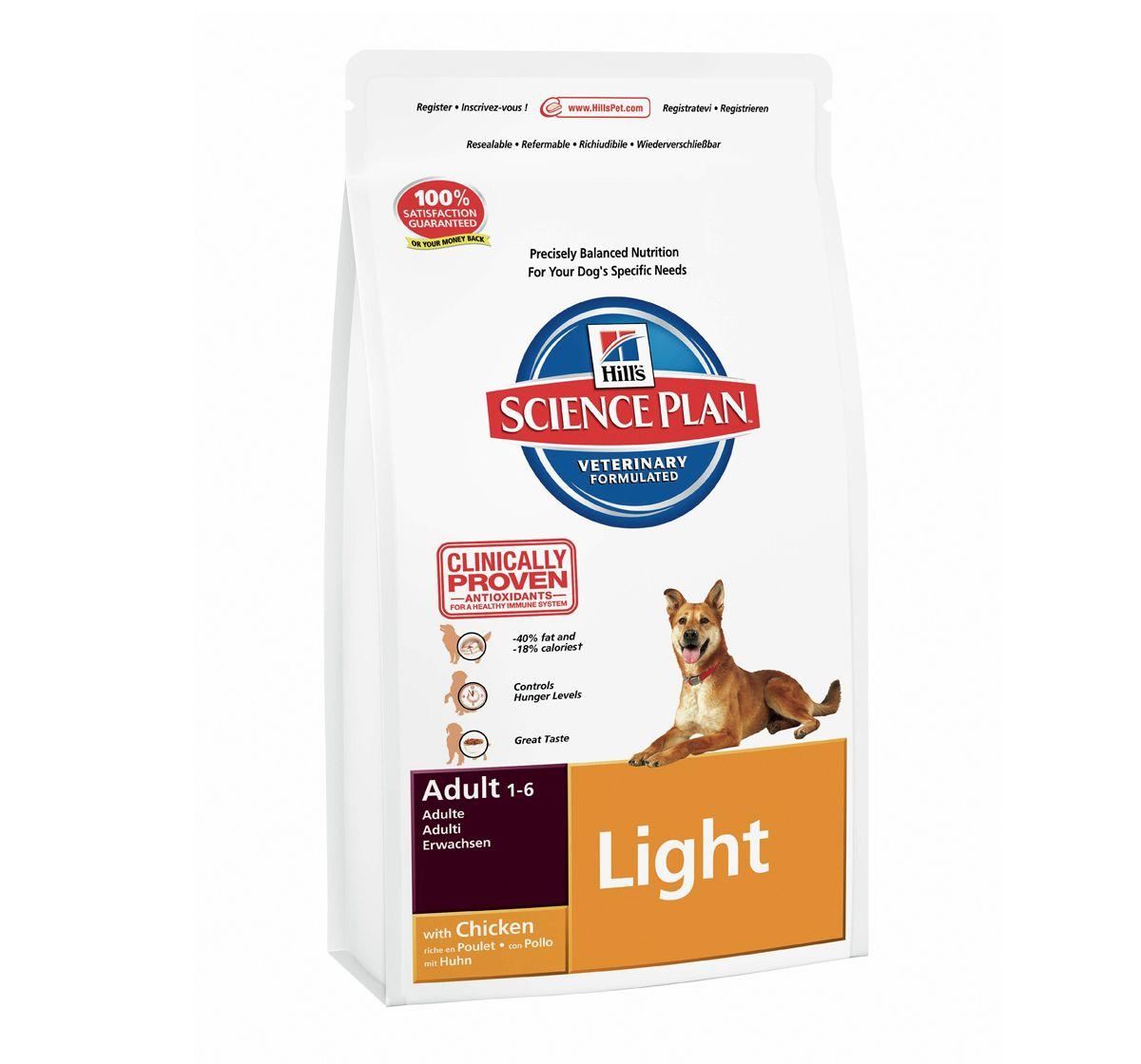 Hills Science Plan Adult Light Chicken - 7 5 KG | Online Pet