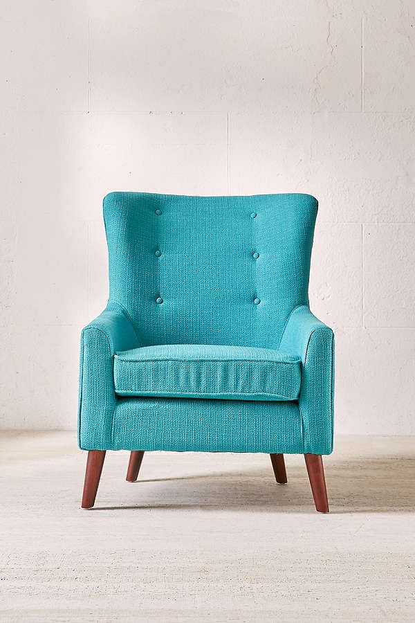 Turquoise Frankie Arm Chair Furniture Home Decor Home