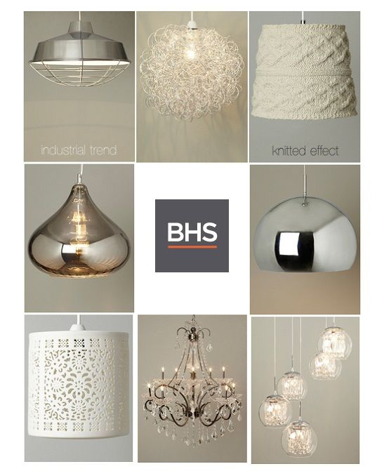 BHS Easy Fit Pendant Lamps