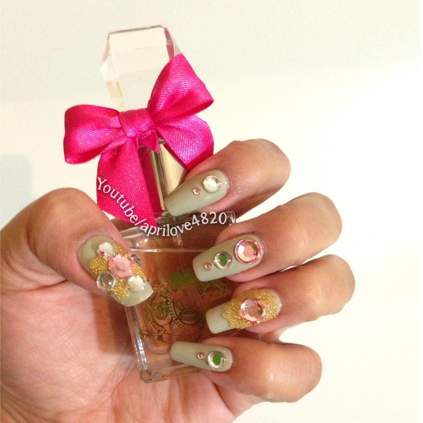 Girly nails #nails #nailart #nail ideas #fall nails #nails for fall ...