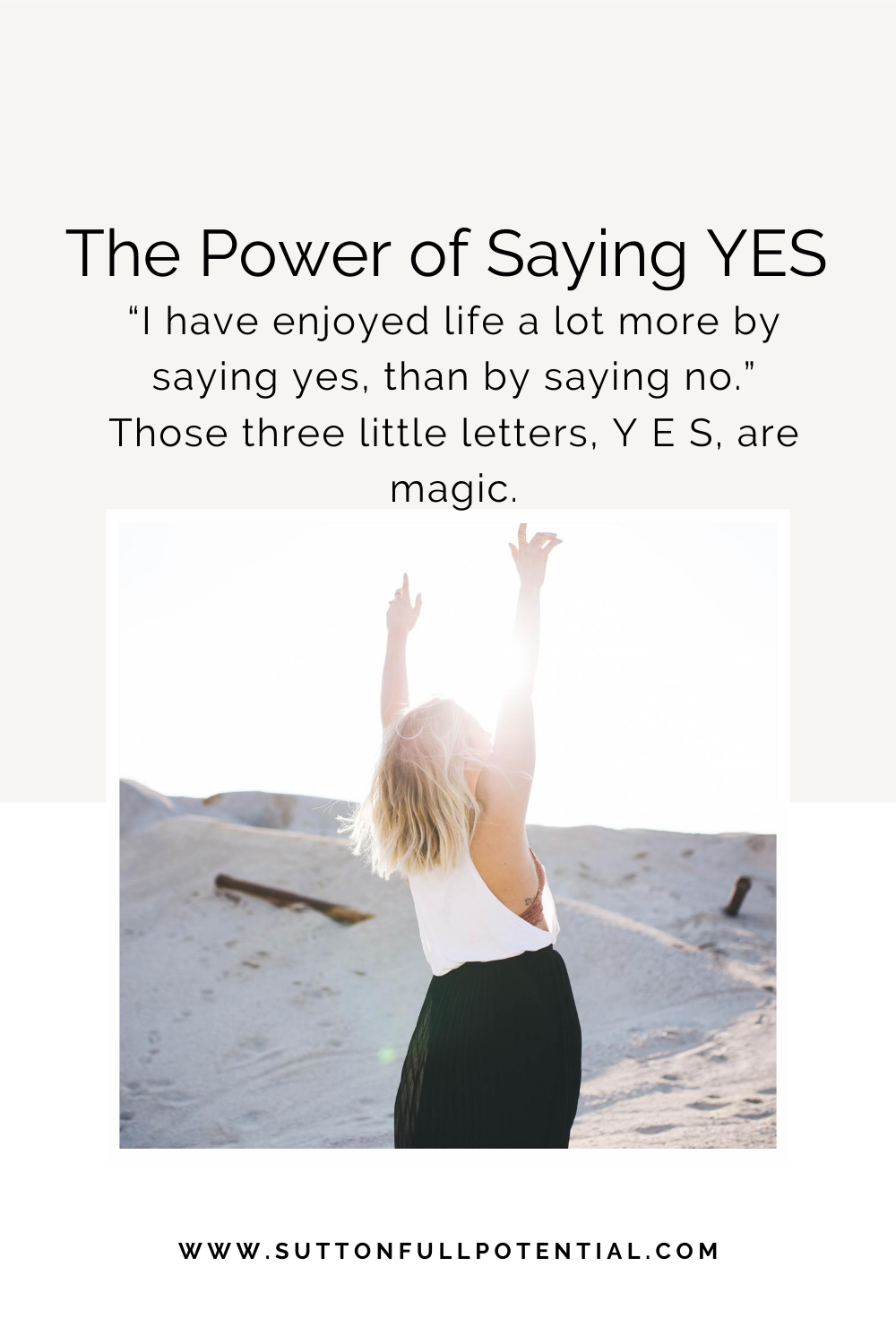 The Power Of Saying Yes Funny Quotes About Life Happy Life Quotes Enjoying Life Quotes