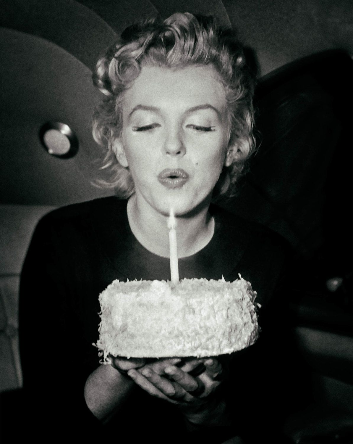 Marilyn Monroe Photo Print Poster Picture Birthday Cake Old Etsy Birthday Candle Photography Candles Photography Free Birthday Stuff