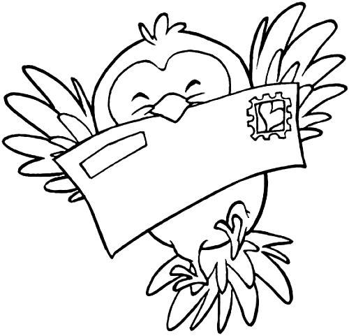 Passarinho Mensageiro Desenho De Jacare Passaro Desenho
