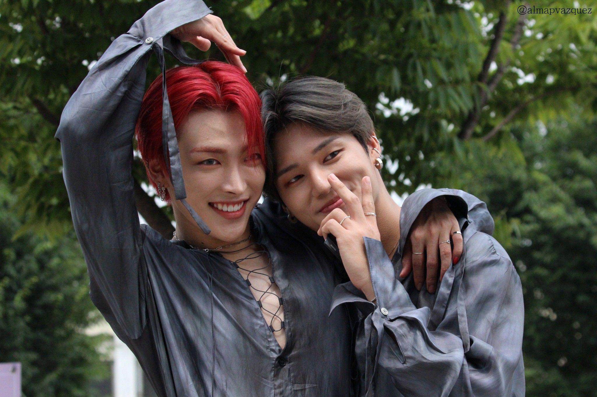 Hongjoong & Wooyoung - ATEEZ almapvazquez