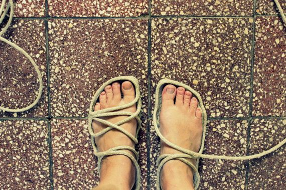 Grounding And Earthing Shoes Help You To Gather The Healing Energy You Need From The Earth When You Cant Walk Barefoot Co Diy Sandals Rope Sandals Diy Shoes