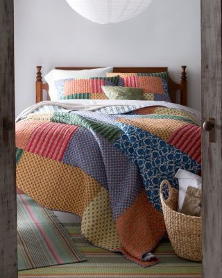 Attractive Warm Matisse Inspired Colors. Traditional Provence Prints. This Beautiful  Hand Quilted Pieced
