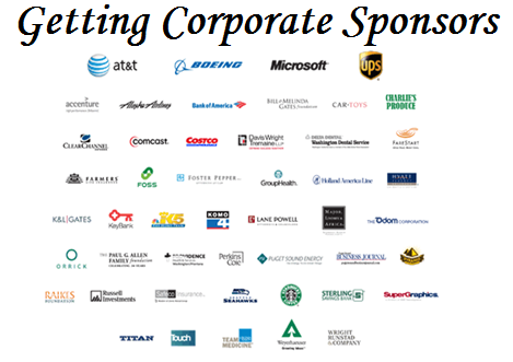 Fundraising Event Tips Getting Corporate Sponsors Charity Fundraising Fundraising Events Nonprofit Fundraising