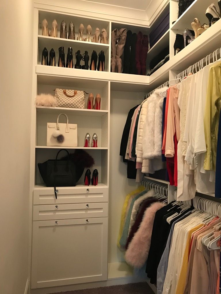 Beautiful Custom Women S Closet In Nashville Tennessee By California Closets Of Nashville Call Us California Closets Womens Closet Custom Storage Solutions