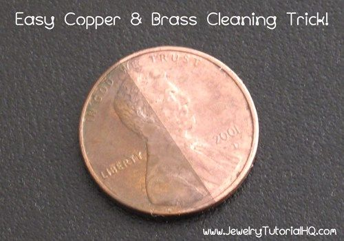 Quick Copper And Brass Cleaning Trick How To Clean Brass