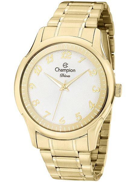 9d3a2e783b3 Relógio Champion Diva Feminino Dourado CN27625H