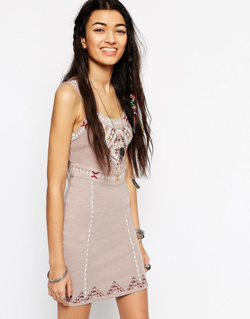 Free People Song Of The South Bodycon Dress | autumn | Pinterest ...