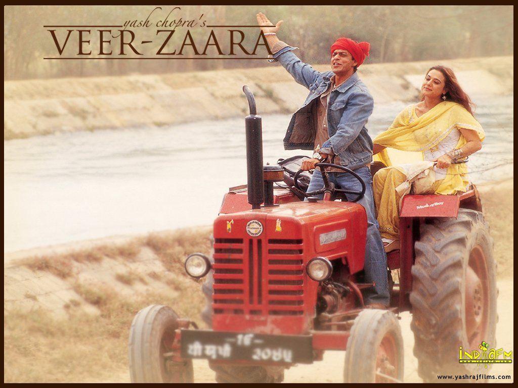 Veer Zaara Starring Shah Rukh Khan Priety Zinta
