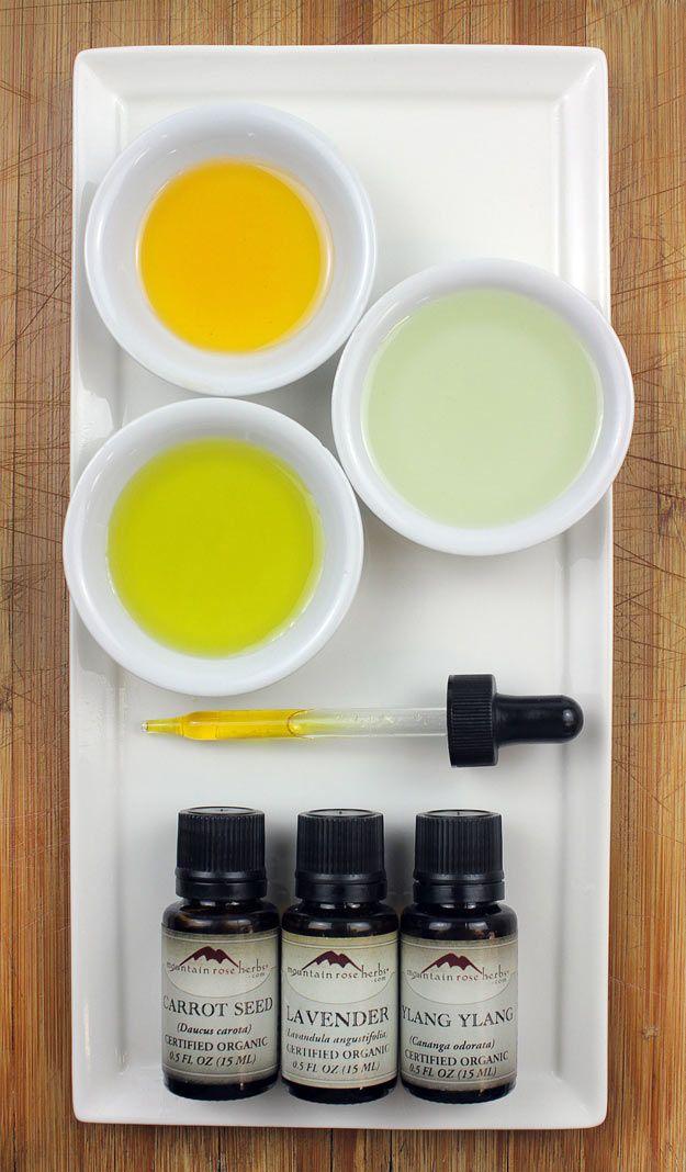 DIY Nourishing Skin Serum recipe from Mountain Rose Herbs.