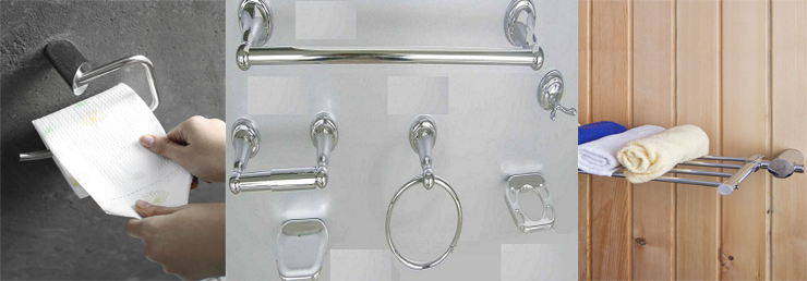 stainless steel cabinet handles door handles drawer knobs and bathroom accessories manufacturer supplier and exporter in india - Bathroom Accessories Design Ideas