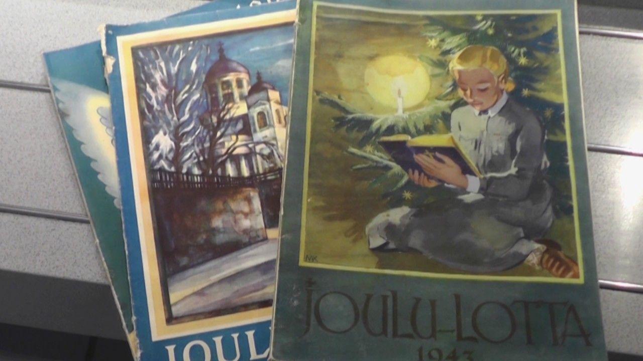 Nostalgiset Naiset -blogin emäntä kertoo Lottajärjestön joululehdistä.