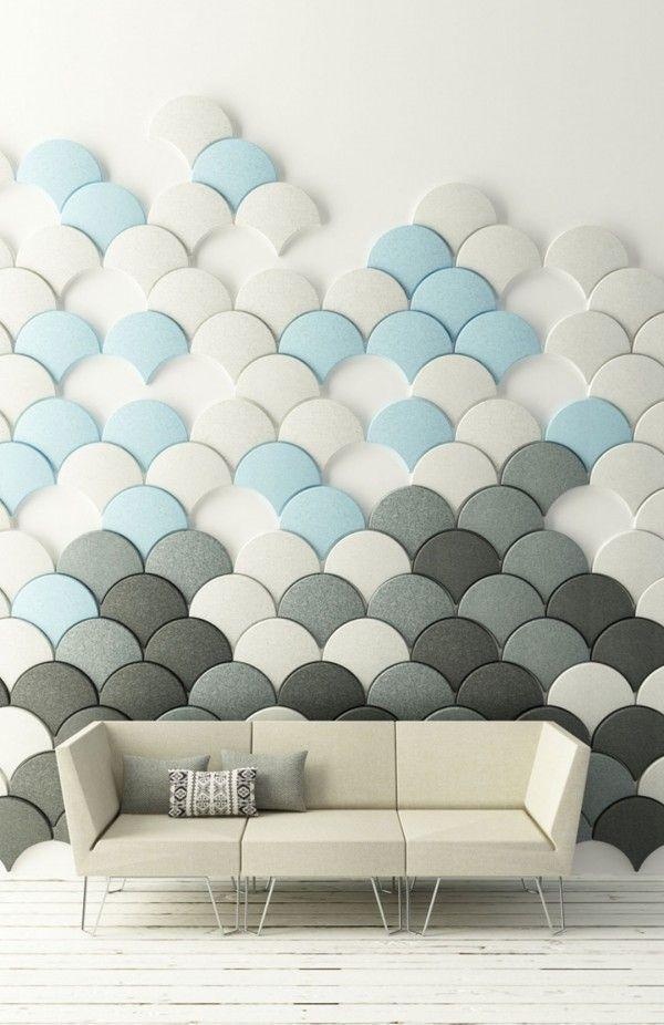 Cool Wall Design Ideas 2014 Acoustic Wall Panels Wall Design Modular Walls