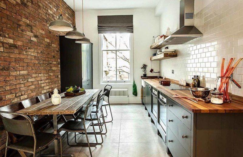 Кухня в стиле Лофт 4 мебель Pinterest Lofts and Catalog